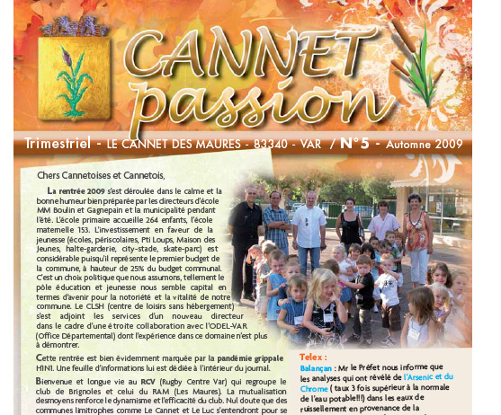 Cannet passion n°05