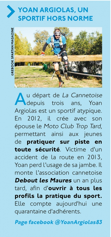 La Cannetoise 2018 : Interview Yoan Argiolas